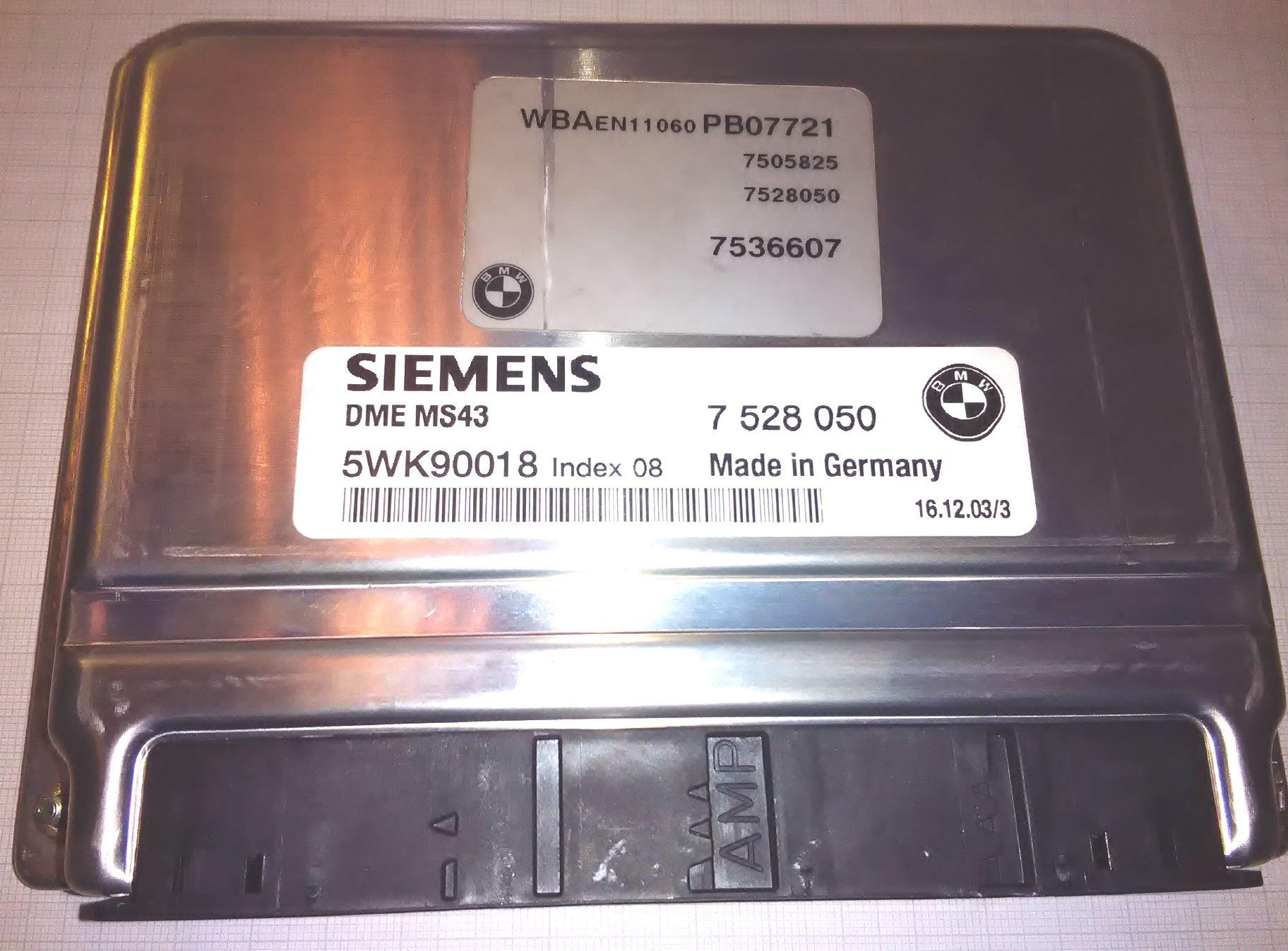 ABS Steuergerät Reparatur BMW 530i Touring 5er Serie E39 Bj 2000-2004